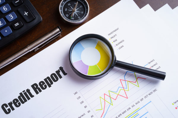 analyzing credit report