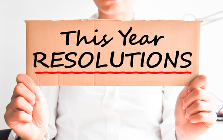 This year resolutions concept
