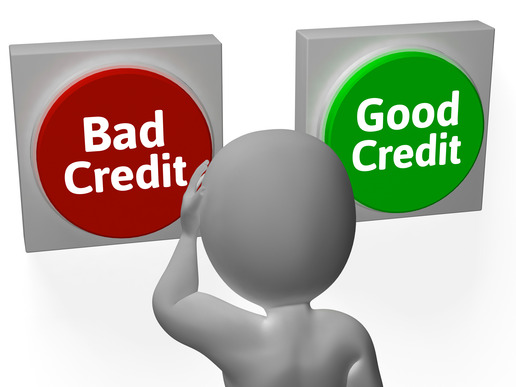 choosing between good and bad credit